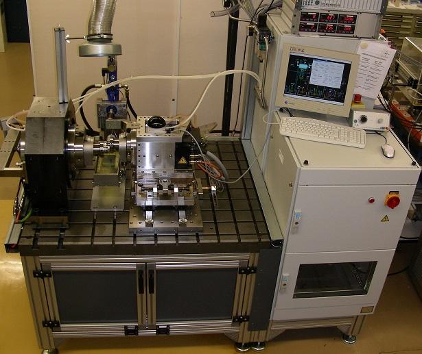 Tribometer-Testing, Wälzkontakt, Zwei-Scheiben-Prüfstand, two-disc